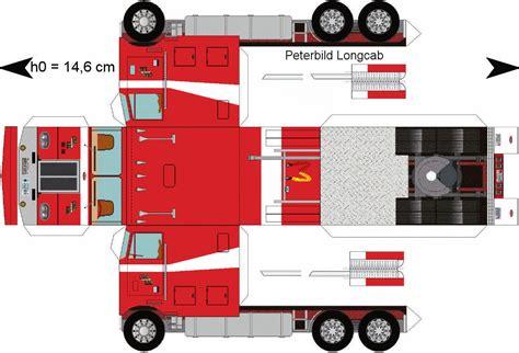 paper semi trucks papercraft truck related keywords