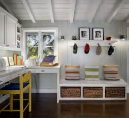 Home Plans With Mudroom 10 Versatile Mudrooms That Double As Home Workspaces