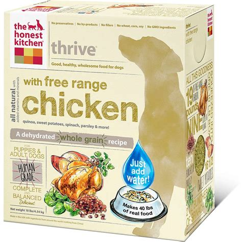 Honest Kitchen Food by Honest Kitchen Thrive Food 10lb Whitedogbone