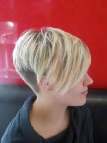 haircut styles longer on sides shorter in back 11 best short hair with bangs popular haircuts
