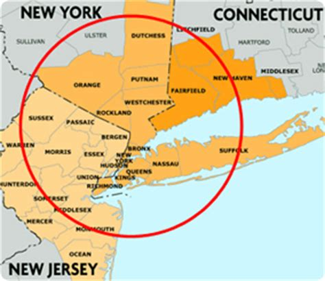 map of new york and surrounding areas opinions on new york metropolitan area