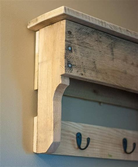 how to make shelves out of pallets shelf and coat rack out of pallets pallet furniture diy