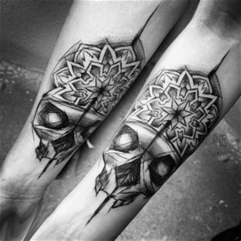 matching skull tattoos inez janiak best ideas gallery