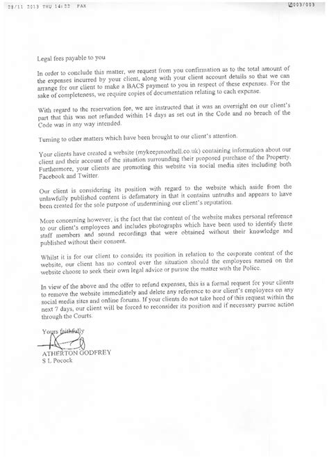 Knowledge Transfer Letter My Story My Keepmoat Hell