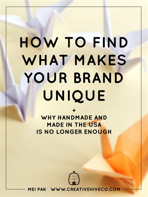 What Makes Your Brand Unique - how to find what makes your brand unique