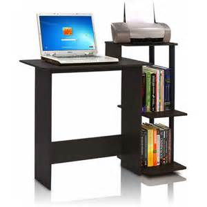 Small Laptop And Printer Desk Furinno 11192 Efficient Home Laptop Notebook Computer Desk Walmart