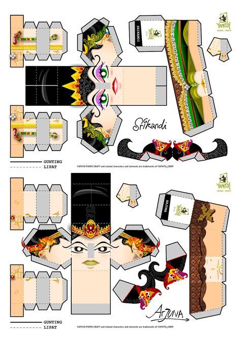 Papercraft Downloads - srikandi papercraft