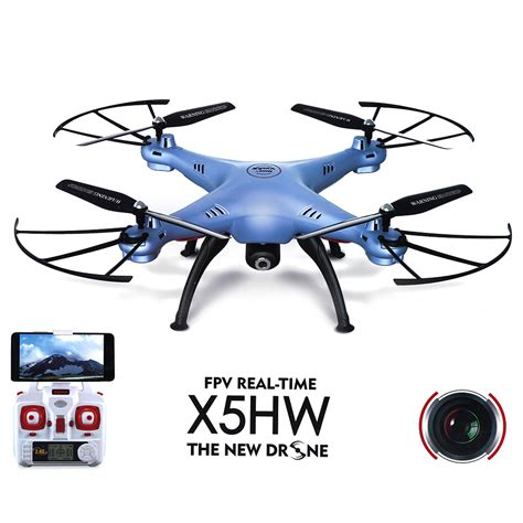 Quadcopter Wifi Syma X5hw Wifi Fpv With Hd Quadcopter Rtf