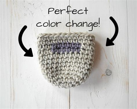 how to change colors in crochet how to seamlessly change colors in crochet in the