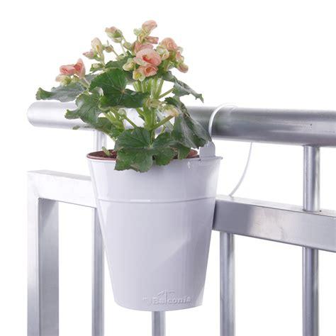 vasi da ringhiera vaso da fiori semicircolare di my balconia