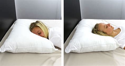 pillow comfortable sleep sleeping slim the best thin pillows for stomach and back