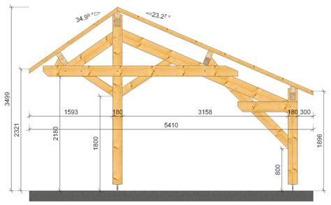 carports plans plan carport simple plans maisons