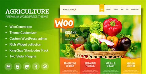 theme wordpress agriculture free agriculture themeforest all in one woocommerce wp theme