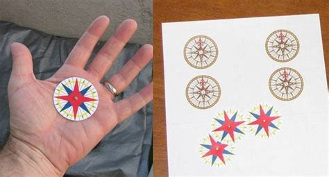 How To Make A Paper Compass - how to make a paper compass 28 images simple