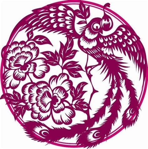 phoenix paper cutting vector free vector in adobe