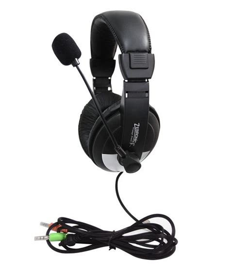 Headset Sony Mic Xb337 Promo zebronics headphone w mic h 100hm buy zebronics headphone w mic h 100hm at best