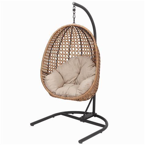 homes gardens lantis patio wicker hanging chair