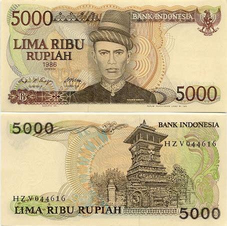 Uang Kertas Rp 5000 Sasando Ronde uang rp5000 jaman dulu