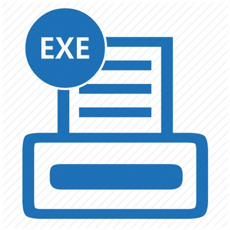 format file exe exe executable file format progrrogramsoftware icon