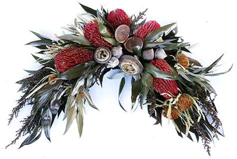 artificial australian native christmas wreath december 2012 bailey studio
