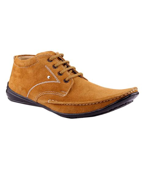frapper nubuck leather casual shoes price in india