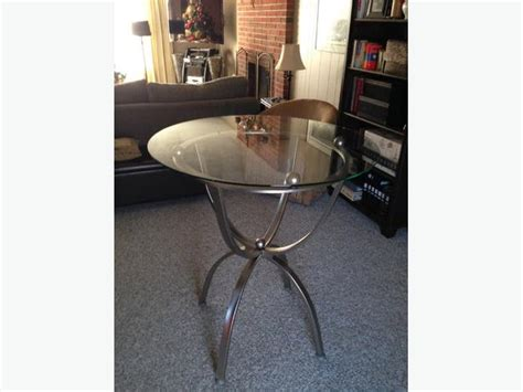 brushed nickel dining table modern brushed nickel and glass kitchen dining table by