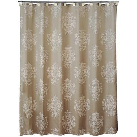 medallion shower curtain medallion shower curtain brocade home bed bath