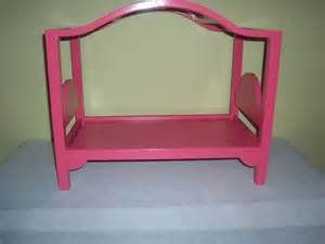 American Doll Canopy Bed Plans 18 American Made Arched Canopy Doll Bed Pink