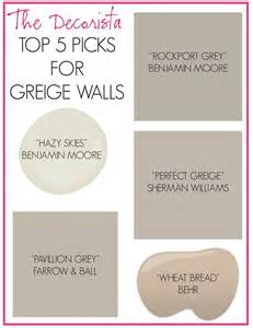 best greige paint colors name that greige living x design