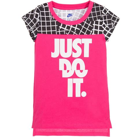 T Shirt 6 0 Nike 1 Years Product nike pink just do it t shirt childrensalon outlet