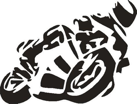 Aufkleber Motorrad Silhouette motorrad aufkleber seitenscheibe heckscheibe