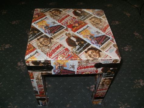 Wrapping Paper Decoupage - wrapping paper table 183 a table 183 decorating decoupage