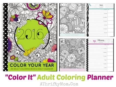 coloring book planner coloring book planner might be the coolest idea