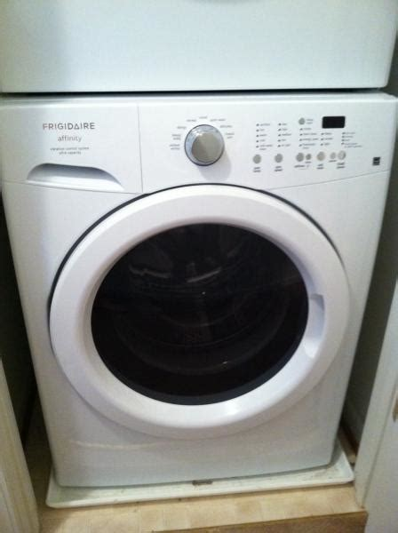 frigidaire affinity washer fs frigidaire affinity stackable washer and dryer honda tech honda forum discussion