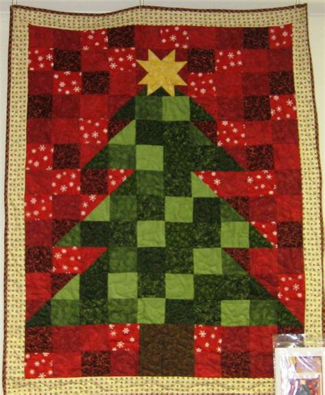 fabric mill christmas tree wall hanging quilt your