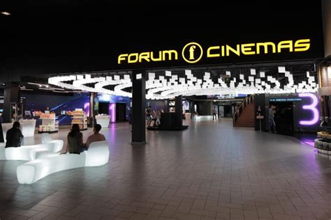 cineplex forum kauno forum cinemas interjeras įvertintas vienu