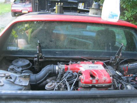 Fiero Interior Parts by 1986 Pontiac Fiero Sport Coupe Parts Car Located In New