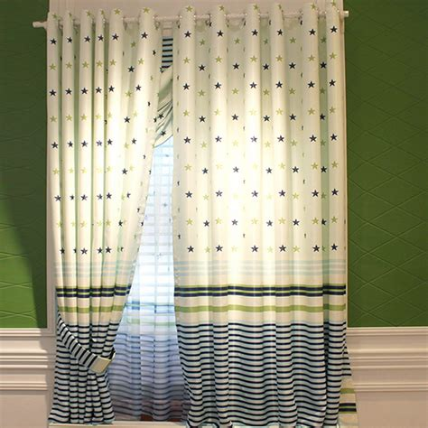 white curtain blackout cloth white fabric patterns blackout kids short star curtains