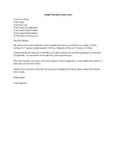 Letter Hotel Pin Hotel Confirmation Letter On