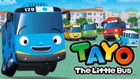 Film Animasi Tayo | lirik lagu kartun tayo the little bus kitablirik