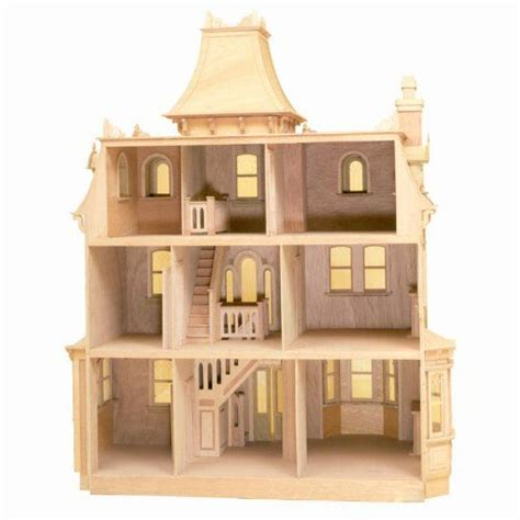 doll house kit greenleaf beacon hill dollhouse kit 1 inch scale 8002