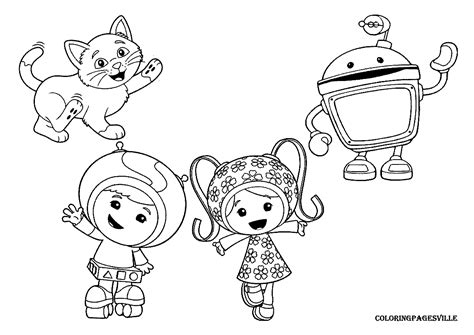 umizoomi coloring pages pdf umizoomi coloring pages 20 pictures colorine net
