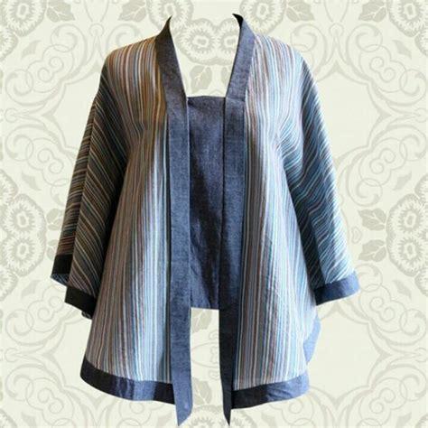 design baju batik lurik lurik denim batikrana my work pinterest