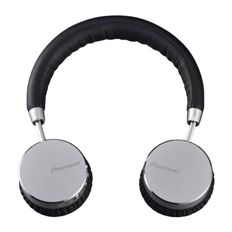 Headset Bluetooth Pioneer official pioneer bluetooth headphone se mj561bt s silver