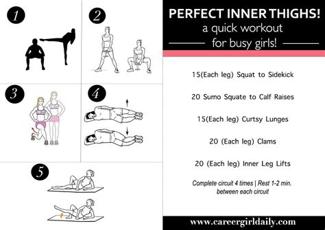 inner thighs a workout for busy