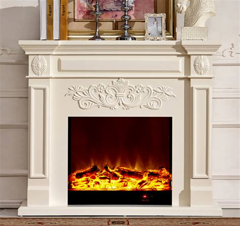 wood fireplace mantel with electric fireplace insert warm