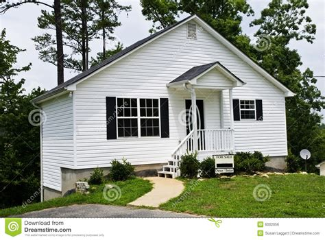 remodeling a little white house small white house for sale stock photo image of