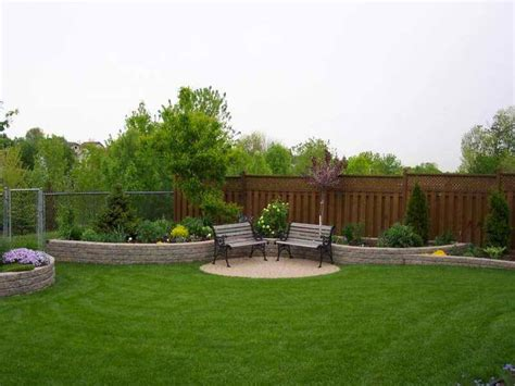 simple backyard landscape ideas triyae com simple backyard designs pictures various