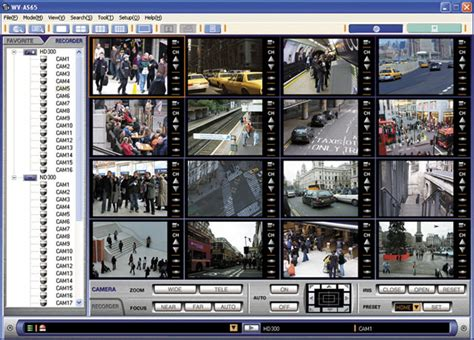 panasonic wv as65 surveillance software research