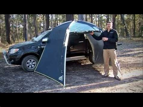 Vaude Tailgate Awning Review Khyam Comparison Funnydog Tv